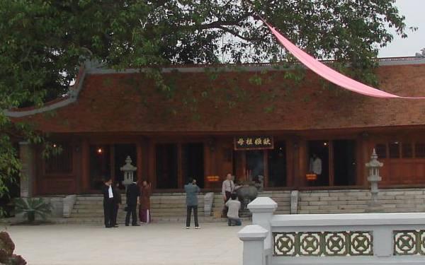 Ghé thăm đền Quốc Mẫu Âu Cơ nhớ đến đạo lý uống nước nhớ nguồn
