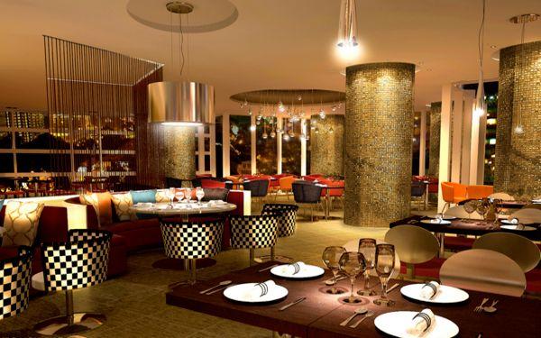 Thiết kế nhà hàng khách sạn theo lối kiến trúc Châu Âu lấp lánh