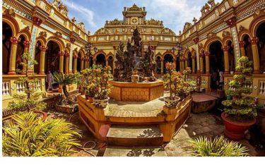 Về miền tây vãn cảnh chùa Vĩnh Tràng cho lòng thanh tịnh