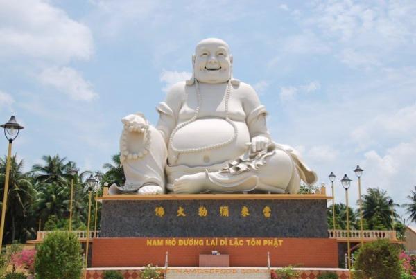 Tượng A di đà tại chùa Vĩnh Tràng