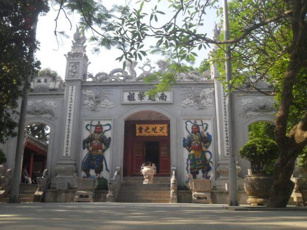 Kiến trúc cổng Đền