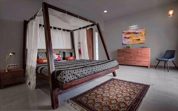 Phòng ngủ chuẩn phong cách Á Động mang đến cảm giác bình yên
