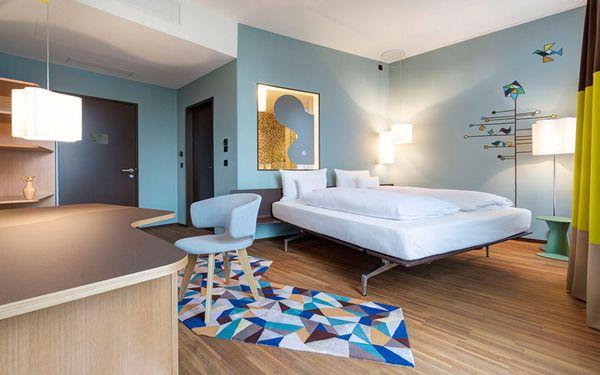 Phòng ngủ khách sạn hiện đại theo phong cách Châu Âu