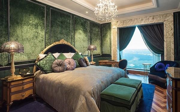 Nội thất khách sạn 6 sao: Sắc xanh độc đáo tạo cảm giác thích thú, đẹp lạ từ cái nhìn đầu tiên