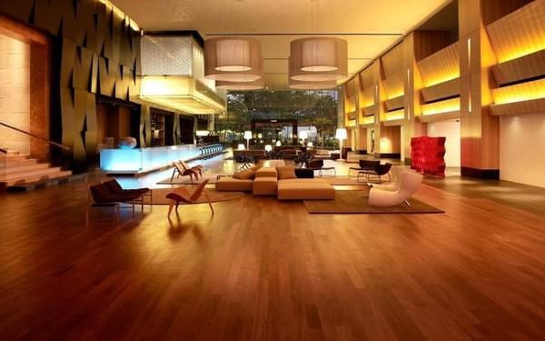 Chất liệu gỗ sử dụng trong thiết kế mang đến cảm giác ấm cúng