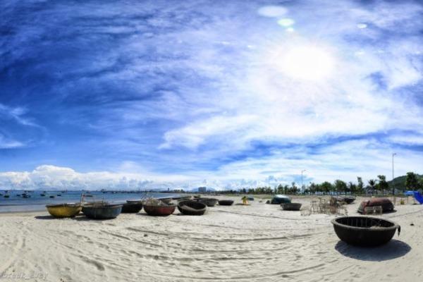 Hình ảnh bãi biển Ba Động
