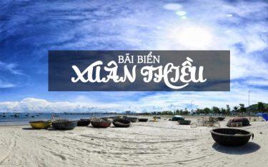 Bãi biển Xuân Thiều – Vùng biển đỏ rực rỡ, hoang sơ đầy thu hút