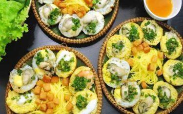 Bánh căn Phan Rang: Vị ngon gây thương nhớ cho du khách xa gần