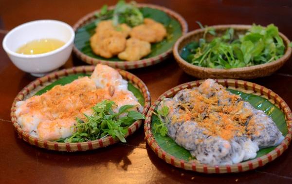 Bánh cuốn chả mực tinh hoa ẩm thực đất biển Quảng Ninh