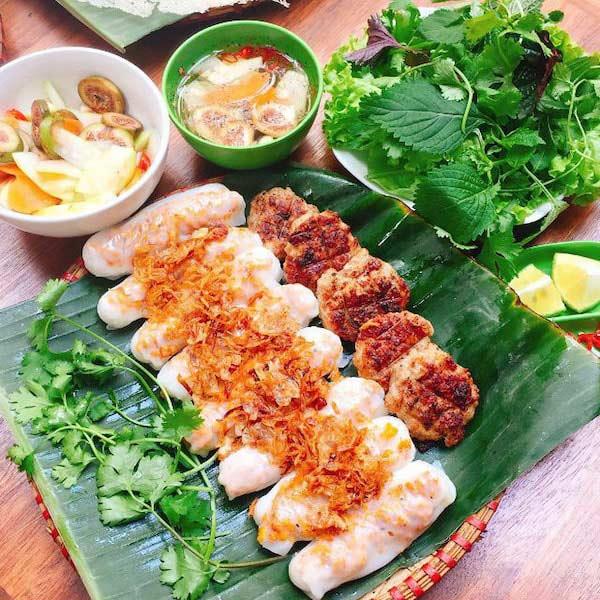 Món bánh cuốn Thanh Hoá độc đáo mang hương vị khó quên