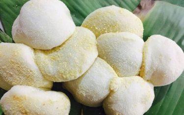 Bánh dày làng Gàu: Đặc sản dẻo thơm đầy ý vị đất Hưng Yên