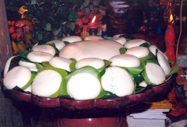Loại bánh không thể thiếu trên mân cỗ dịp Tết đến trong các gia đình