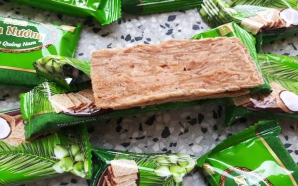 Đặc sản bánh dừa nướng Quảng Nam giòn ngon khó cưỡng
