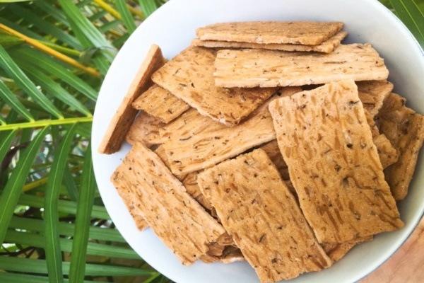 Đặc sản bánh dừa nướng thơm ngon