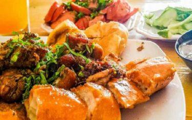 Thơm ngọt hương vị của bánh mì nướng Lạng Sơn