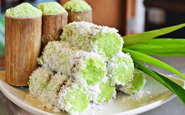 Bánh ống lá dứa – Đặc sản miền Tây vừa ngon lại thích mắt