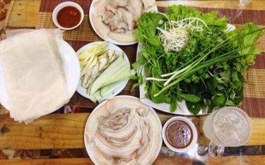 Bánh tráng thịt heo – Nét giản dị khó quên trong ẩm thực Đà Thành