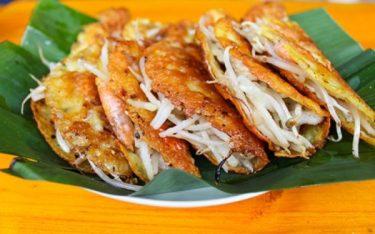 Bánh xèo mực – Đặc sản mang dư vị của biển cả Nha Trang