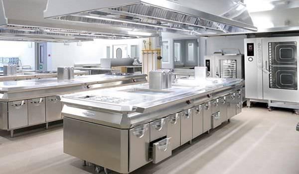 mô hình bếp khách sạn