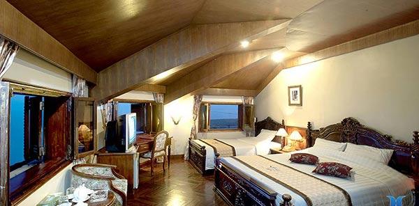 Giá thuê phòng tại dinh thự khoảng 2 triệu /đêm