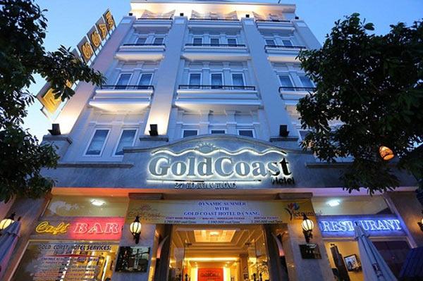 Gold Coast Hotel Đà Nẵng nằm ở trục đường du lịch chính