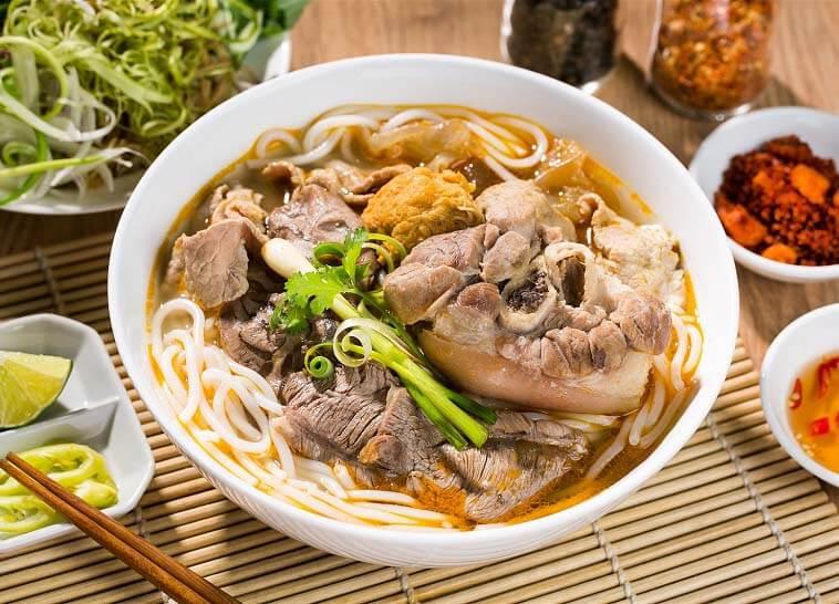 Hương vị của món bún bò tại xứ Huế khác biệt với những nơi khác