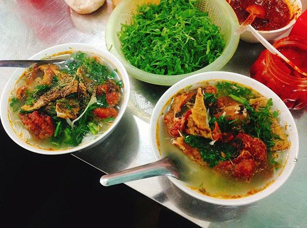 Bún cá Nam Định - món ăn ngon của người Việt