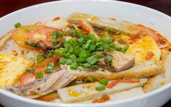Bún lá cá dầm nổi danh làm nên tên tuổi xứ Ninh Hòa