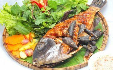 Cá bớp nướng – Đặc sản mang hương vị biển cả Phú Yên