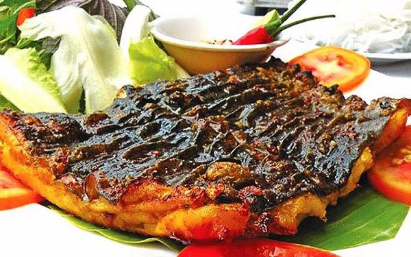 Nướng cá bớp với muối ớt thơm ngon đúng vị
