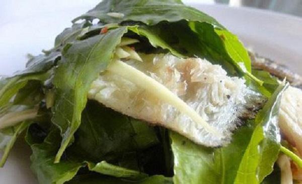 Cá chua là đặc sản của Kon Tum
