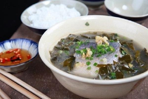 Canh cá làm từ cá chua Kon Tum