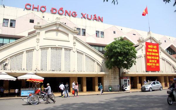 Chợ Đồng Xuân: Nét đẹp trong văn hóa mua sắm, du lịch của Hà Nội