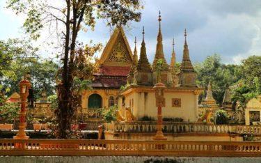 Thăm Chùa Âng: Ngôi chùa Phật giáo Khmer tiêu biểu của Trà Vinh