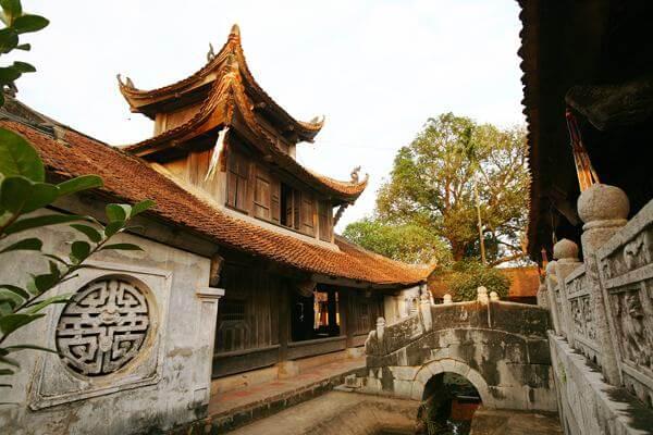 Kiệt tác kiến trúc và điêu khắc tại ngôi chùa cổ