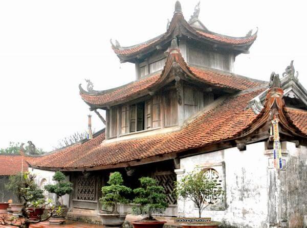 Nét đẹp cổ kính của chùa Bút Tháp