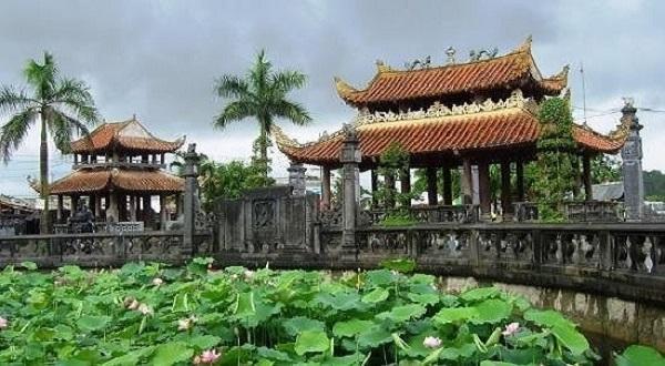 quang cảnh chùa Keo