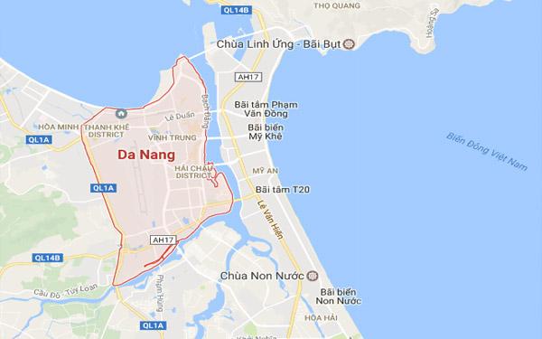 Bảo đồ đường đi chùa Linh Ứng