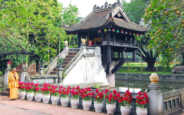 Chùa Một Cột niềm tự hào của dân tộc Việt