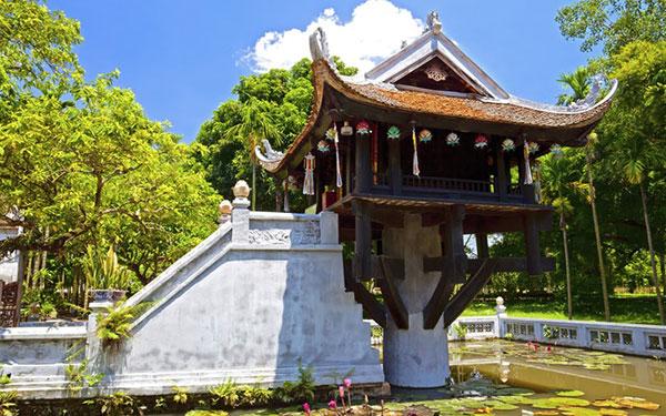 Chùa Một Cột biểu tượng nghìn năm văn hiến giữa Thủ đô
