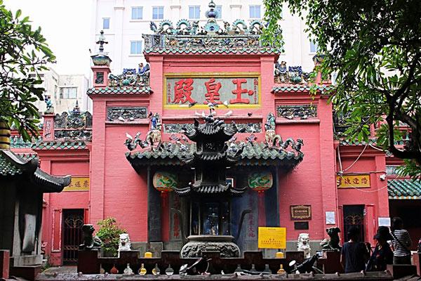 Ngôi chùa cổ kính nằm giữa phồn hoa Sài thành