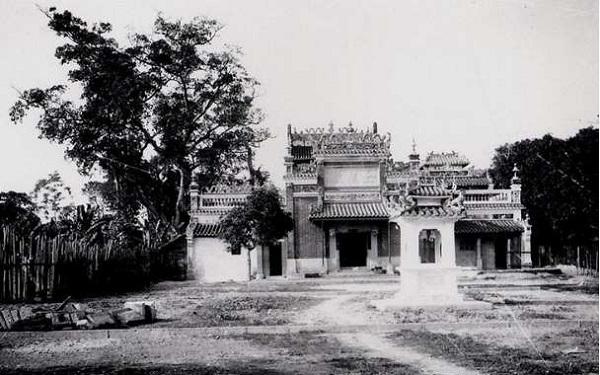 Một bức ảnh hiếm hoi của chùa Ngọc Hoàng từ xa xưa