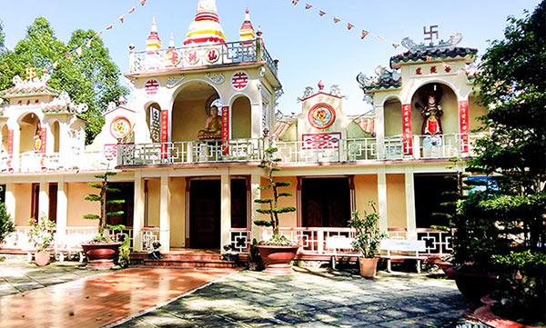 Ngôi chùa cổ ở Vĩnh Long