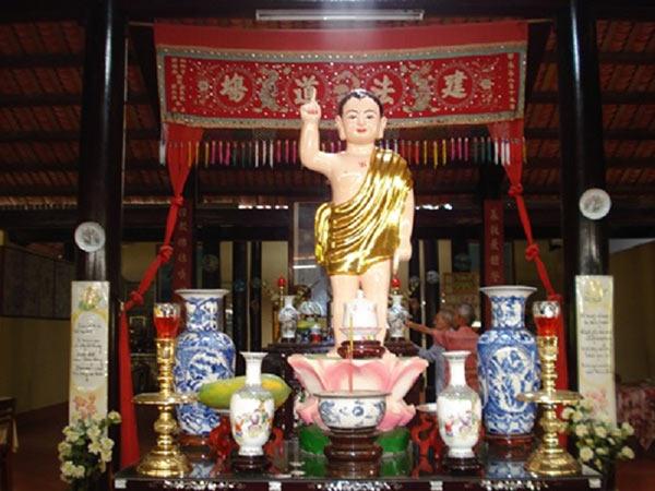 Kiến trúc bên trong ngôi chùa