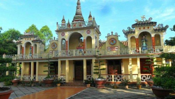 Kiến trúc bên ngoài của ngôi chùa