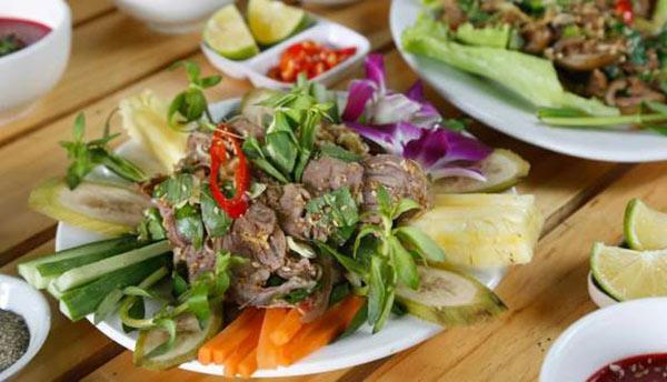 Các món ăn từ dê núi Ninh Bình vô cùng nổi tiếng