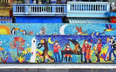 Con đường gốm sứ – Công trình mang đậm tính nghệ thuật và lịch sử