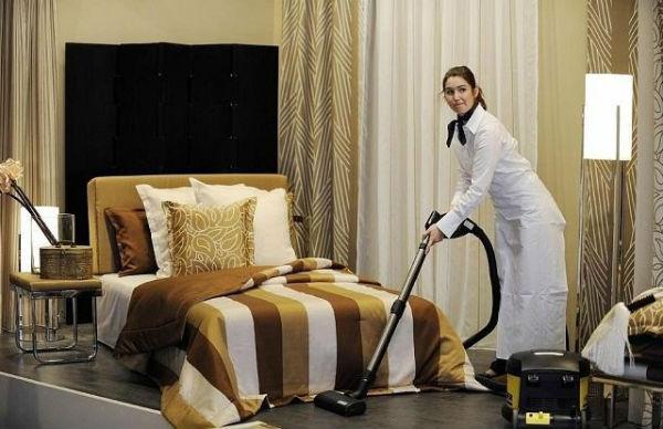Phòng nghỉ luôn cần được kiểm tra và vệ sinh sạch sẽ