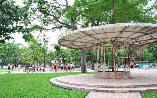 Công viên là địa điểm quen thuộc, gần gũi dành cho tất cả mọi người