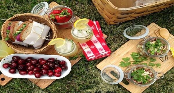 Mọi người thường mang theo đồ ăn tới đây để picnic dã ngoại